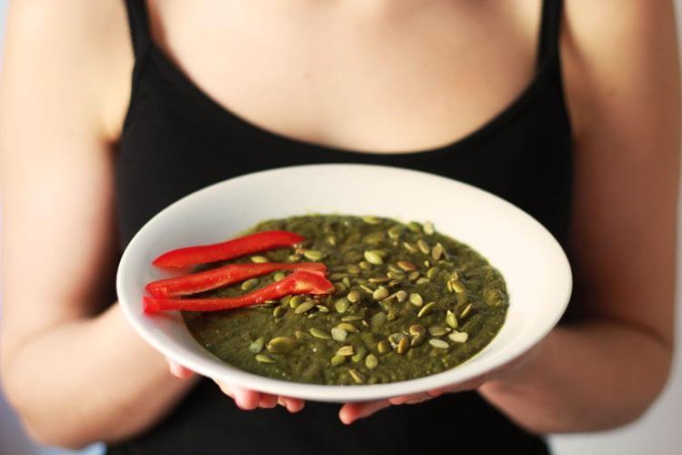 Zupa krem z zielonych warzyw przepis