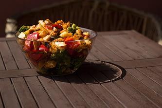 Warzywa na szaszłyki