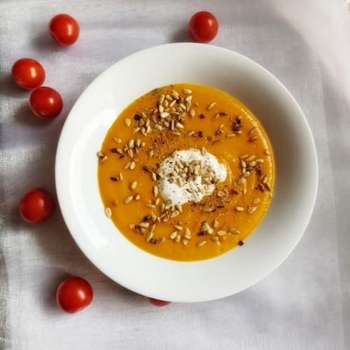 Zupa krem z dyni przepis Magdalena Włodkowska