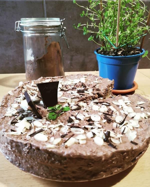 Tort urodzinowy bez cukru i mąki