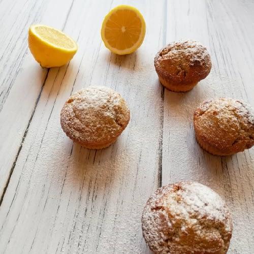 Pełnoziarniste babeczki cytrynowe