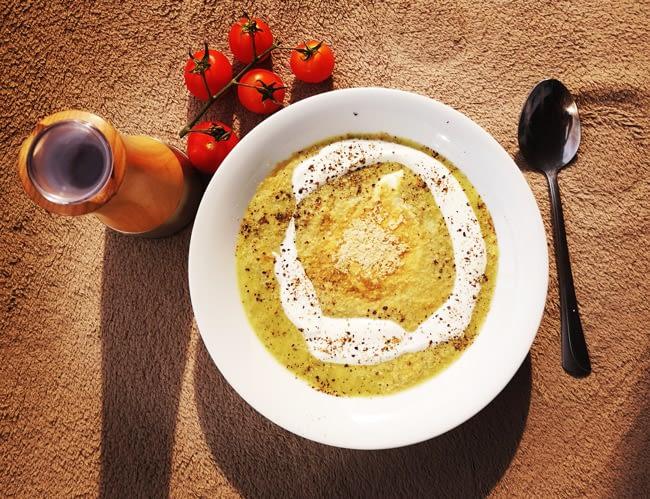 Zupa krem z cukinii przepis dietetyk Magdalena Włodkowska